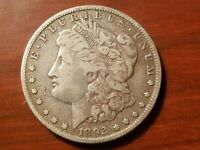 1892 O MORGAN SILVER DOLLAR LIBERTY HEAD $1 COIN AMERICAN EAGLE FINE DETAIL