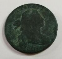 1801 LARGE CENT DRAPED BUST