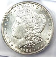 1888-S MORGAN SILVER DOLLAR $1 - CERTIFIED ICG MINT STATE 61 -  DATE - MS UNC