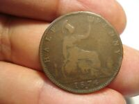 GREAT BRITAIN   1/2  PENNY  1874