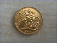 FULL GOLD SOVEREIGN 22 CT. GOLD 1978   QUEEN ELIZABETH 2ND