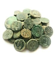 LOT OF 60 ANCIENT ROMAN AE COINS