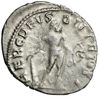 MYTHOLOGICAL LARGE SILVER ROMAN COIN