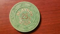 $25 PLAYBOY A/C ATLANTIC CITY NJ FUN NIGHT CASINO CHIP POKER CHIP