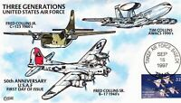 COLLINS  3167   UNITED STATES AIR FORCE 50TH ANNIVERSARY HAN