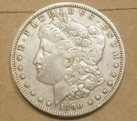 1890 O MORGAN SILVER DOLLAR LIBERTY HEAD $1 COIN AMERICAN EAGLE EXTRA FINE EF XF