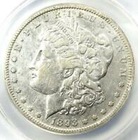 1893-S MORGAN SILVER DOLLAR $1 - CERTIFIED ANACS EXTRA FINE 40 DETAILS EF40 - KEY COIN
