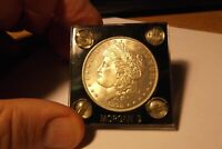 1878 MORGAN SILVER DOLLAR 8 TAIL FEATHERS. OBVERSE DOUBLED STRIKE STARS.