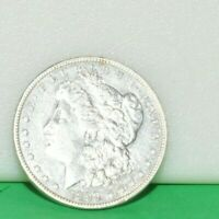 1892 S MORGAN $1 EXTRA FINE /AU CLEANED BUT LOTS OF DETAIL CONDITION RARIETY