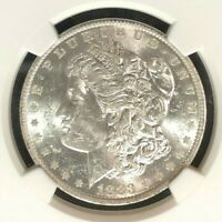1883-O VAM 36A NGC MINT STATE 61 MORGAN SILVER DOLLARGENE L HENRY LEGACY COLLECTION 010