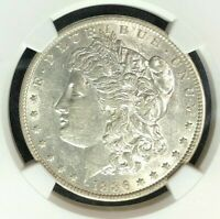 1886-O VAM 1A1 NGC AU55 MORGAN SILVER DOLLARGENE L HENRY LEGACY COLLECTION 001