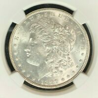1897 VAM 6A NGC MINT STATE 61 MORGAN SILVER DOLLARGENE L HENRY LEGACY COLLECTION 034
