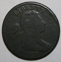 1803 US LARGE CENT SMALL DATE LARGE FRACTION S-257 R-2 N13