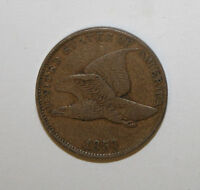 1857 FLYING EAGLE CENT  A4