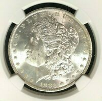 1883-O VAM 36A NGC MINT STATE 63 MORGAN SILVER DOLLARGENE L HENRY LEGACY COLLECTION 018