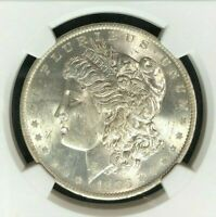 1883-O VAM 22A NGC MINT STATE 62 MORGAN SILVER DOLLARGENE L HENRY LEGACY COLLECTION 016
