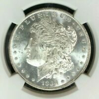 1884-O/O VAM 6 NGC MINT STATE 63 MORGAN SILVER DOLLARGENE L. HENRY LEGACY COLLECTION020