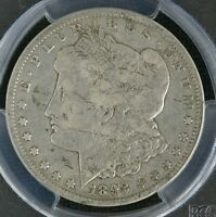 1892-CC MORGAN DOLLAR. PCGS  VG10