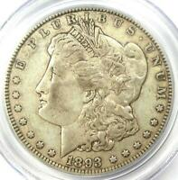 1893 MORGAN SILVER DOLLAR $1 COIN - CERTIFIED PCGS EXTRA FINE 40 EF40 -  DATE COIN