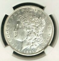 1891-O VAM 3A1 NGC EXTRA FINE 45 MORGAN SILVER DOLLARGENE L HENRY LEGACY COLLECTION 010
