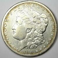 1879-CC MORGAN SILVER DOLLAR $1 - VF DETAIL -  CARSON CITY COIN