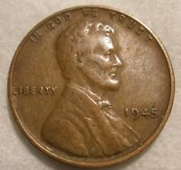 1945 - LINCOLN WHEAT CENT - CIRCULATED DAMAGED?