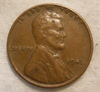 1945 - LINCOLN WHEAT CENT - CIRCULATED