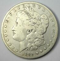 1895-O MORGAN SILVER DOLLAR $1 - VF DETAILS -  DATE NEW ORLEANS COIN