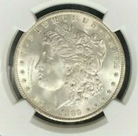 1889 VAM 16 NGC MINT STATE 65 MORGAN SILVER DOLLARGENE L HENRY LEGACY COLLECTION 036