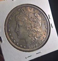 UNITED STATES MORGAN DOLLAR 1896  GREAT TONING AND CONDITION  -C13