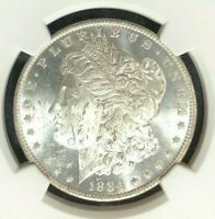 1884-O/O VAM 6 NGC MINT STATE 62 MORGAN SILVER DOLLAR  GENE L. HENRY LEGACY COLLECTION