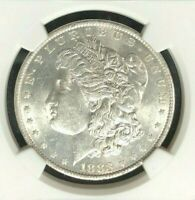 1883-O VAM 36A NGC MINT STATE 61 MORGAN SILVER DOLLARGENE L HENRY LEGACY COLLECTION 008