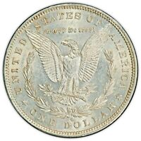 1881 O MORGAN SILVER DOLLAR PCGS AU 55 GOLD SHIELD GREAT LISTING FOR 1 OF 7COINS