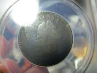 1794 FLOWING HAIR LARGE CENT  ANACS  VG 8 DETAILS  CORRODED  A OLD COIN