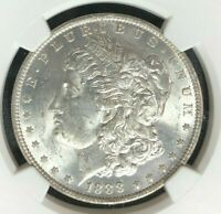 1888-O MORGAN SILVER DOLLAR - NGC MINT STATE 63 BEAUTIFUL COIN REF26-082