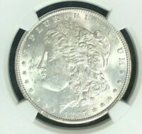 1897 VAM 6A NGC MINT STATE 61 MORGAN SILVER DOLLARGENE L HENRY LEGACY COLLECTION 008