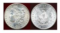 1889-S $1 WHITE MINT LUSTER  MORGAN DOLLAR