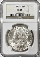 1883-CC CARSON CITY MORGAN SILVER DOLLAR NGC MINT STATE 65