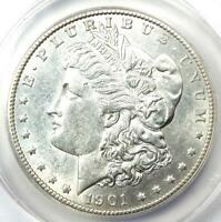 1901-S MORGAN SILVER DOLLAR $1 COIN - CERTIFIED ANACS AU58 - LOOKS MS / UNC