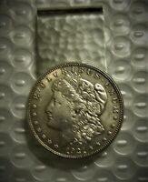 ORG. EL REY MORGAN SILVER DOLLAR STERLING SILVER  MONEY CLIP