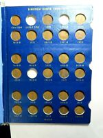 1909 1940 LINCOLN PENNY COLLECTION IN WHITMAN ALBUM INCLUDES