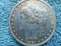 1881 O MORGAN DOLLAR 90 SILVER UNCIRCULATED   KEY DATE