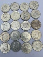 90  SILVER COINS $10 FACE VALUE 1964 KENNEDY HALF DOLLARS IN