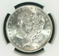 1883-O VAM 36A NGC MINT STATE 62 MORGAN SILVER DOLLARGENE L HENRY LEGACY COLLECTION 008