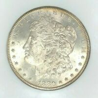 1880-CC MORGAN SILVER DOLLAR - NGC MINT STATE 64 BEAUTIFUL COIN REF79-007