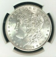 1889 VAM 16 NGC MINT STATE 63 MORGAN SILVER DOLLARGENE L HENRY LEGACY COLLECTION 051