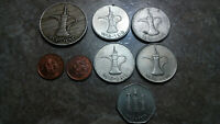 UNITED ARAB EMIRATES COIN LOT OF 8 GREAT ISLAMIC COINS