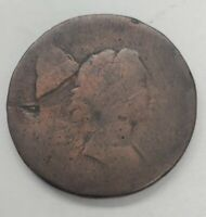 1794 OR 1795 US LIBERTY CAP FLOWING HAIR LARGE CENT COPPER C