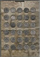 TRANSNISTRIA _ FULL SET 97 COINS X 1 RUBLE 2014   2020 COMM.