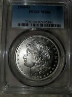 1902 O MORGAN SILVER DOLLAR GRADED MINT STATE 66 BY PCGS
